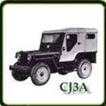 Frame category  G503 Army Jeep Parts for  CJ3A Military Jeeps