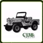 Frame category  G503 Army Jeep Parts for  CJ3B Military Jeeps