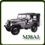 Bumpers category  G503 Army Jeep Parts for  M38A1 Military Jeeps