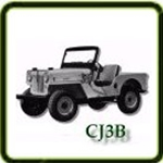 Engine category G503 Army Jeep Parts for CJ3B