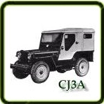 Exhaust category  G503 Army Jeep Parts for  CJ3A Military Jeeps