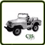 Exhaust category  G503 Army Jeep Parts for  CJ5 Military Jeeps