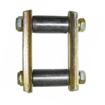 G503,Army Jeep, Military Jeep, Military, WWII, Post War, Willys, Ford, CJ,MB,GPW,M38,Spring shackle assy CJ3B-CJ5 916646