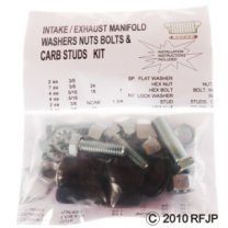 MB GPW, MB GPW PartsManifold Bolt & Washer kit,MB,GPW,Manifold Kit Bolts & Washer Jeep G503 RFJP VintageJeeps