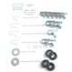 G503,Army Jeep, Military Jeep, Military, WWII, Post War, Willys, Ford, CJ,MB,GPW,M38,Wiring clip set MBT with grommets 0606 MBT,0606 MBT
