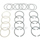 MB GPW, MB GPW PartsEngine piston ring set .020  -A6797-020,MB,GPW,A6797-020 Jeep G503 RFJP VintageJeeps