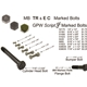 G503,Army Jeep, Military Jeep, Military, WWII, Post War, Willys, Ford, CJ,MB,GPW,M38,Bolt 1/4 - 20 X 1/2 - 52170 F